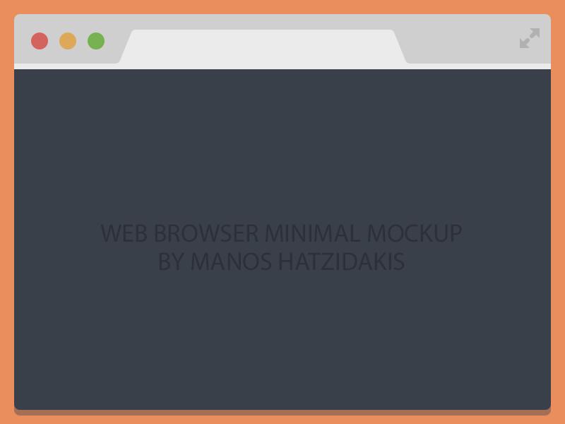 Flat Chrome Browser Free Psd Free Psd Design Free Psd Browser