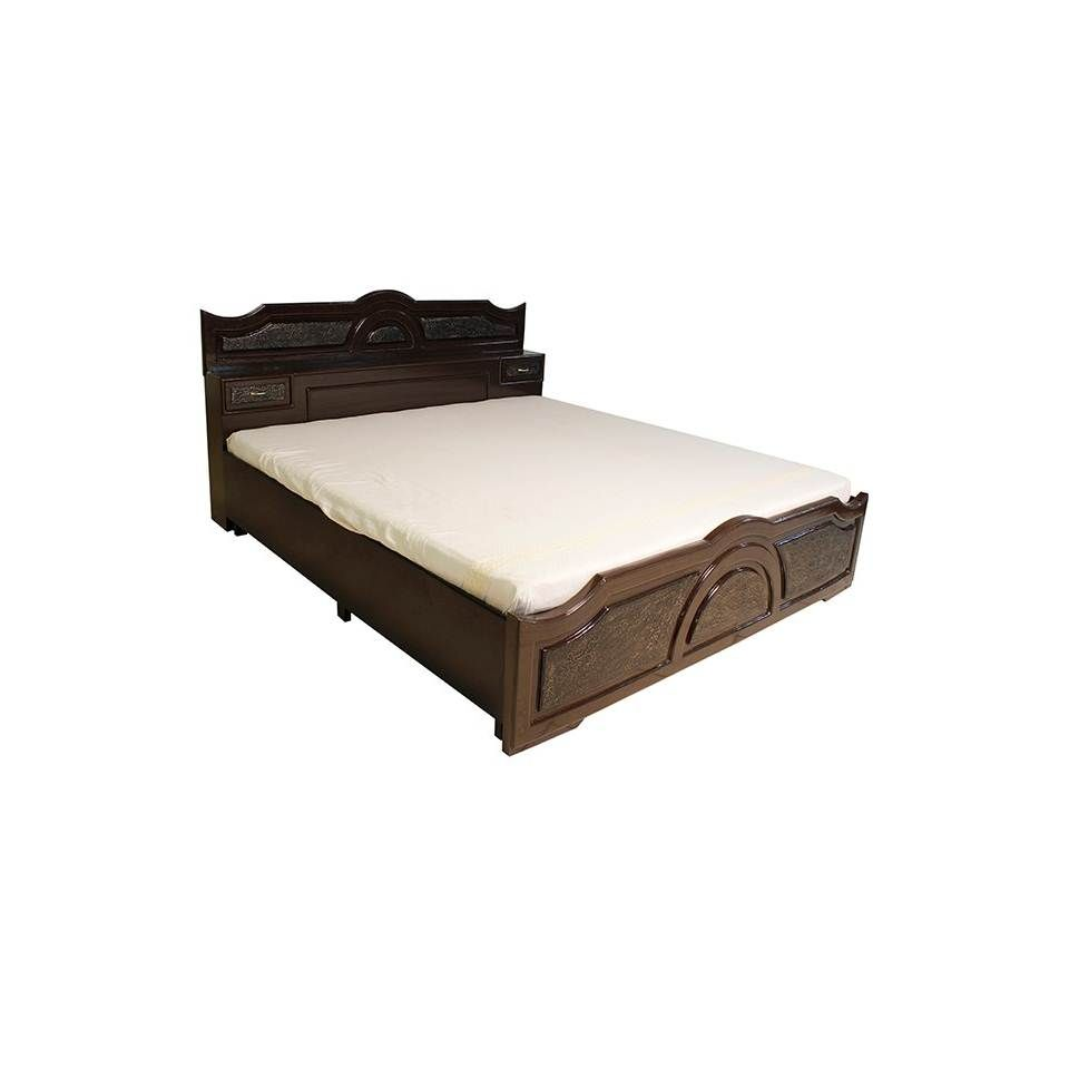 Buy Bantia Slovakia Queen Size Bed Online India at Best Price Rs ...