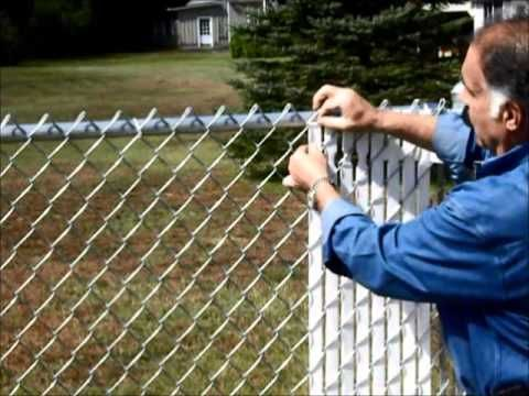 Converting My Chain Link Fence To A Stone Wall Youtube Chain Link Fence Fence Landscaping Chain Link Fence Cover