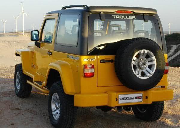 Jeep Troller Yellow Carro Jipe Troller Jipe