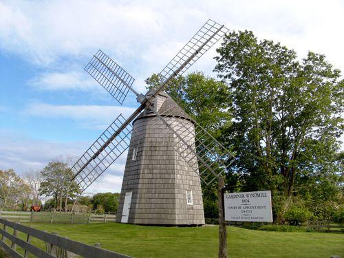 Windmill, East Hampton, Long Island, NY, USA