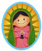 Virgen De Guadalupe Moderna Dibujos A Color 1ra Comunion