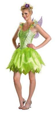 Sexy green fairy costume