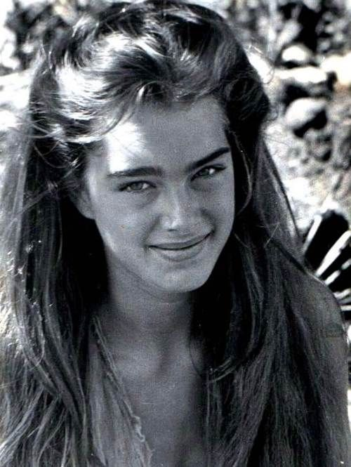 Think, large pictures of young brooke shields nudes possible tell