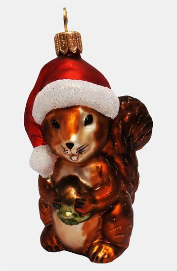 Nordstrom At Home Squirrel Ornament Squirrel Ornaments Christmas Animals
