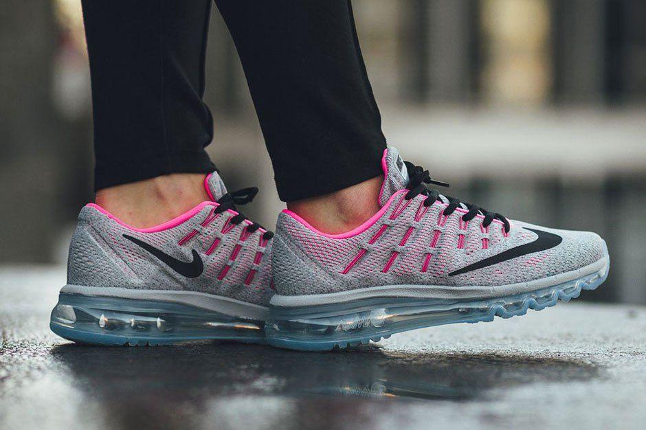 nike air max 2016 grijs en roze