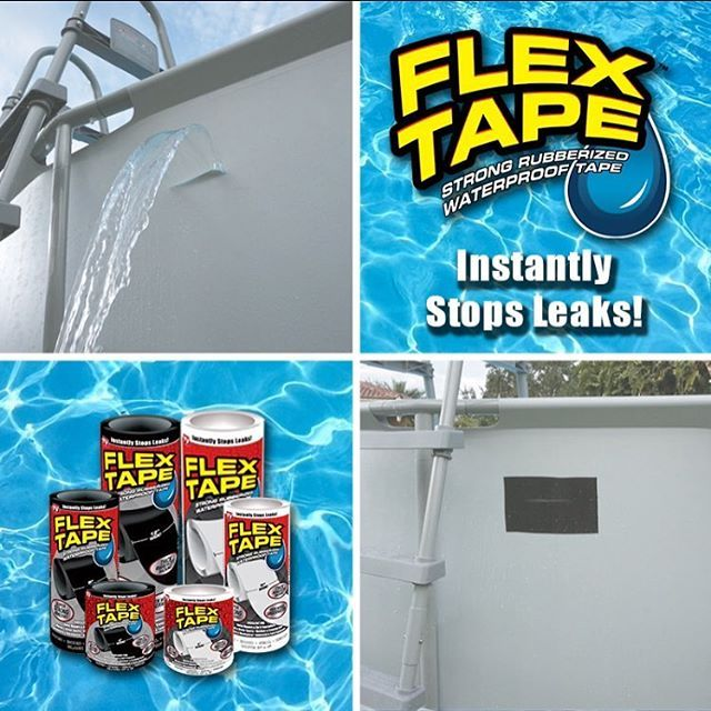 Flex Tape Waterproof Tape Official Store Low Prices Waterproof Tape Remodeling Mobile Homes Patch Hole