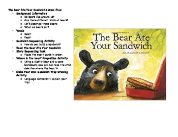 Lesson plan for the bear ate your sandwich by julia sarcone roach lesson plan for the bear ate your sandwich by julia sarcone roach background types fandeluxe Gallery