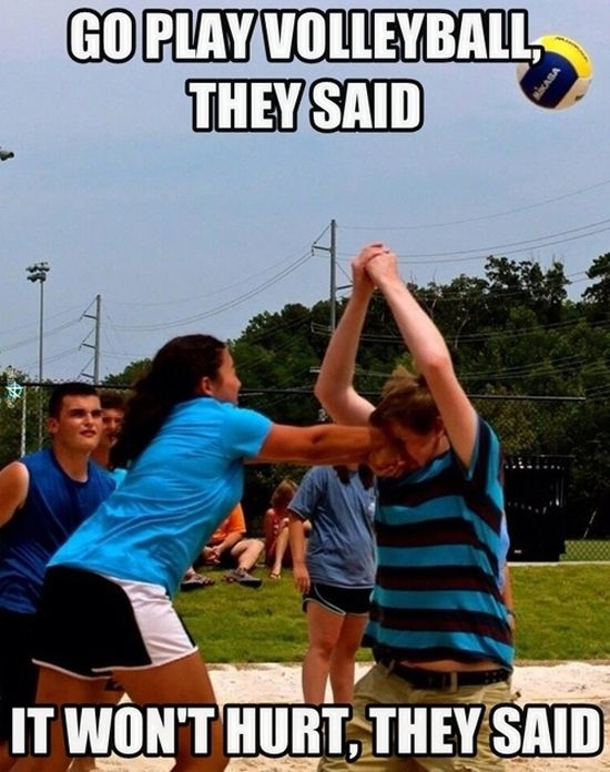 Funny Pictures Volleyball Punch Face Jpg 550 696 Pixels With