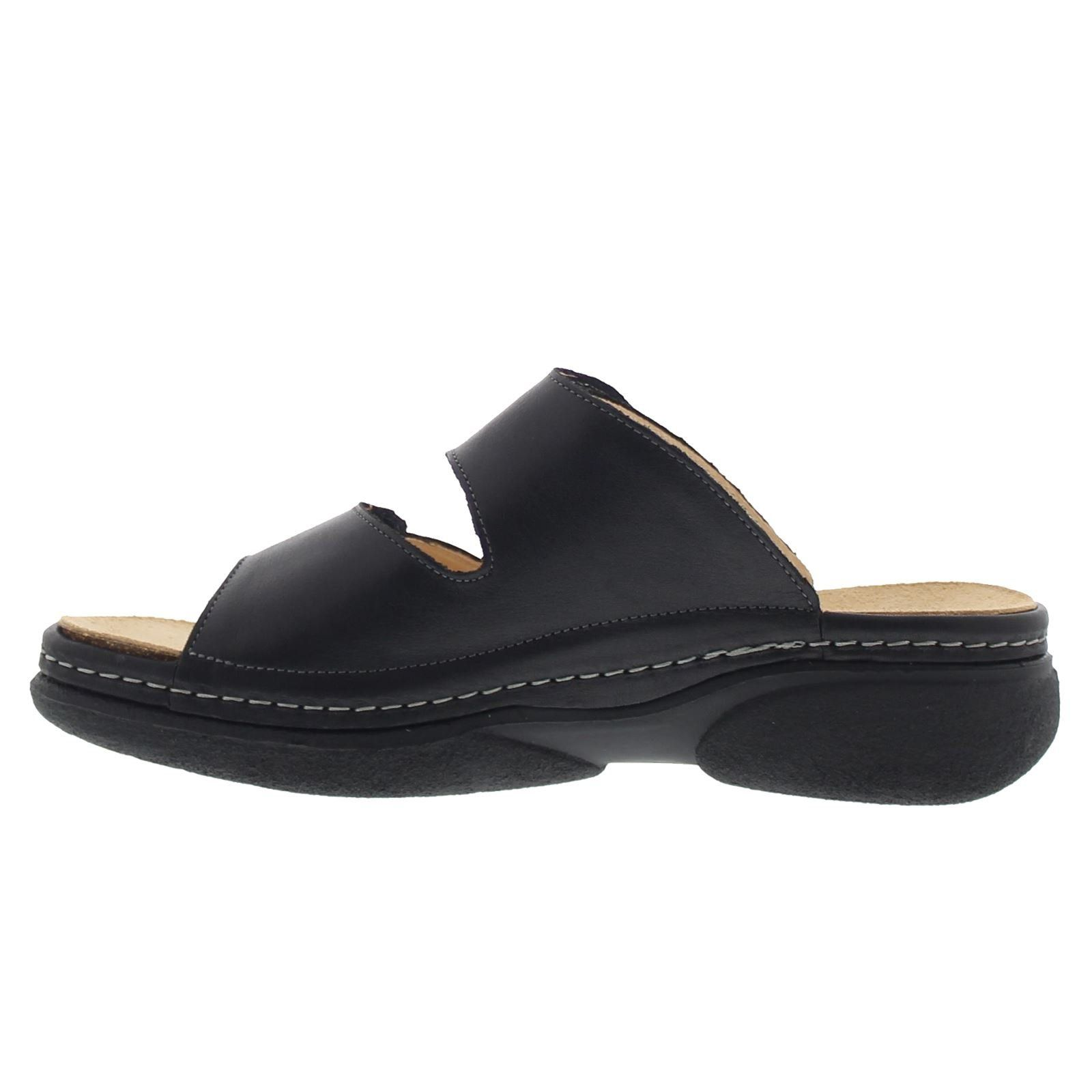 517725fc840c Womens Cambio Slide Black Leather Sandals 40 EU   Visit the image link more  details. (This is an affiliate link)  womenssandals
