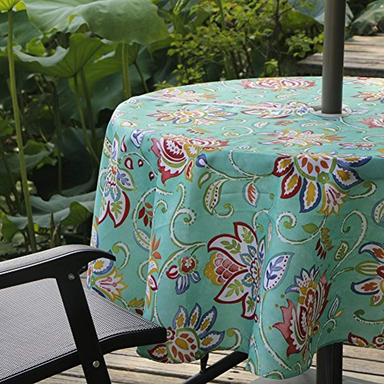 Colorbird Modern Bosemia Flower Outdoor Tablecloth Waterproof