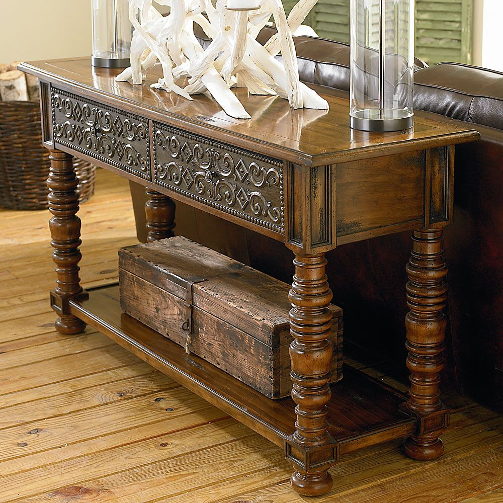 Console table by bassett furniture bassett favorites pinterest probably prefer as a sofa table but better in the entryway than what i have nowor maybe the upstairs hall bassett sonoma console hallway or sofa table geotapseo Choice Image