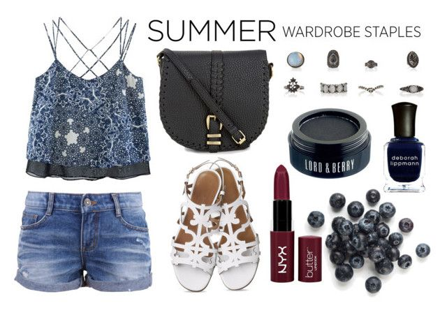 """Blue summer"" by vanesabutterfly ❤ liked on Polyvore"