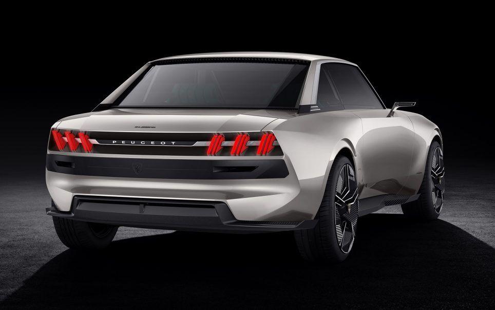 Peugeot E Legend Le Coupe 504 Reinvente 30 Photos Concept Cars