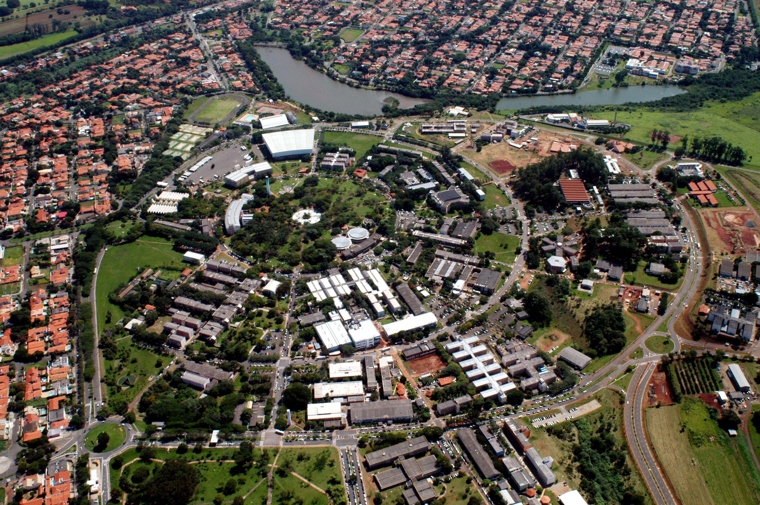 Foto Aérea da Unicamp (Foto  Antoninho Perri   Ascom   Unicamp ... 6648f312a53