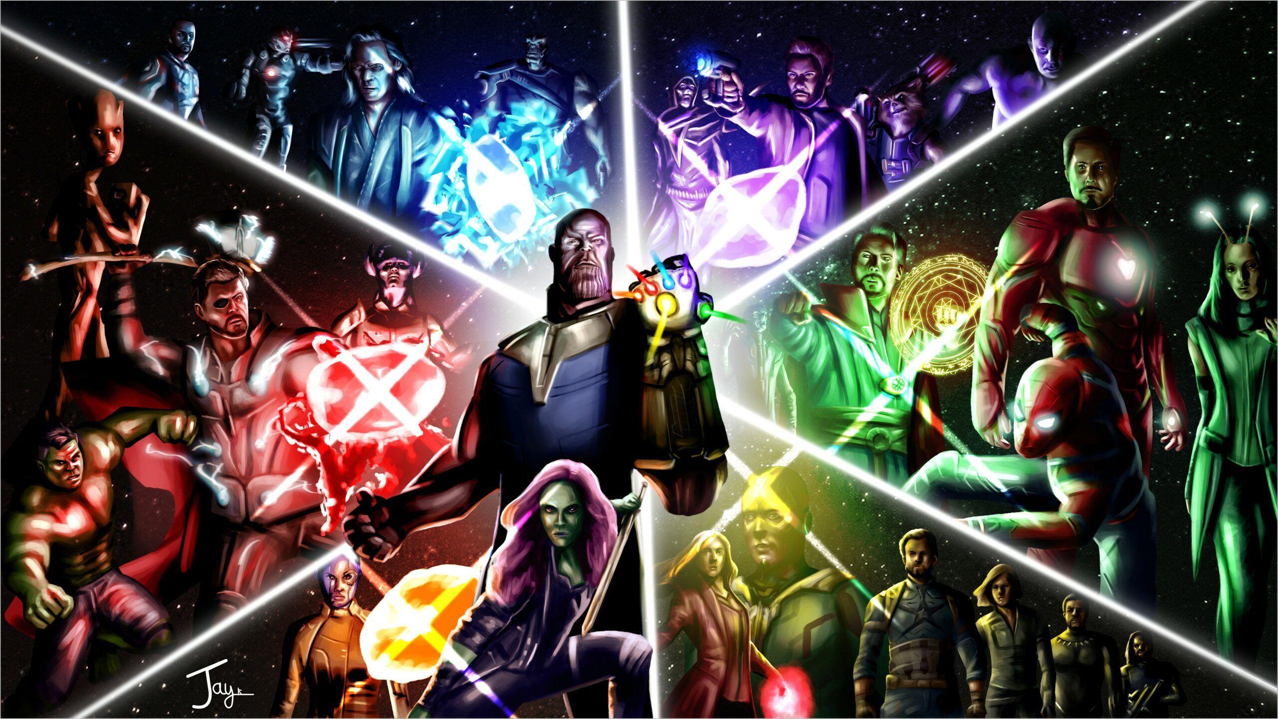 Avengers Painting 4k Wallpaper In 2020 Marvel Infinity War Movie Wallpapers Avengers Infinity War