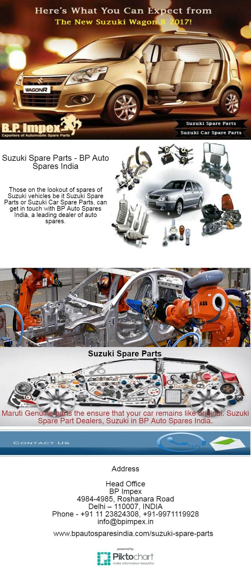 Maruti Genuine parts the ensure that your car remains like