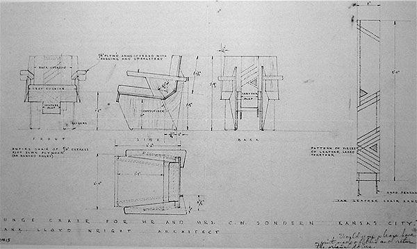 Genial Frank Lloyd Wright