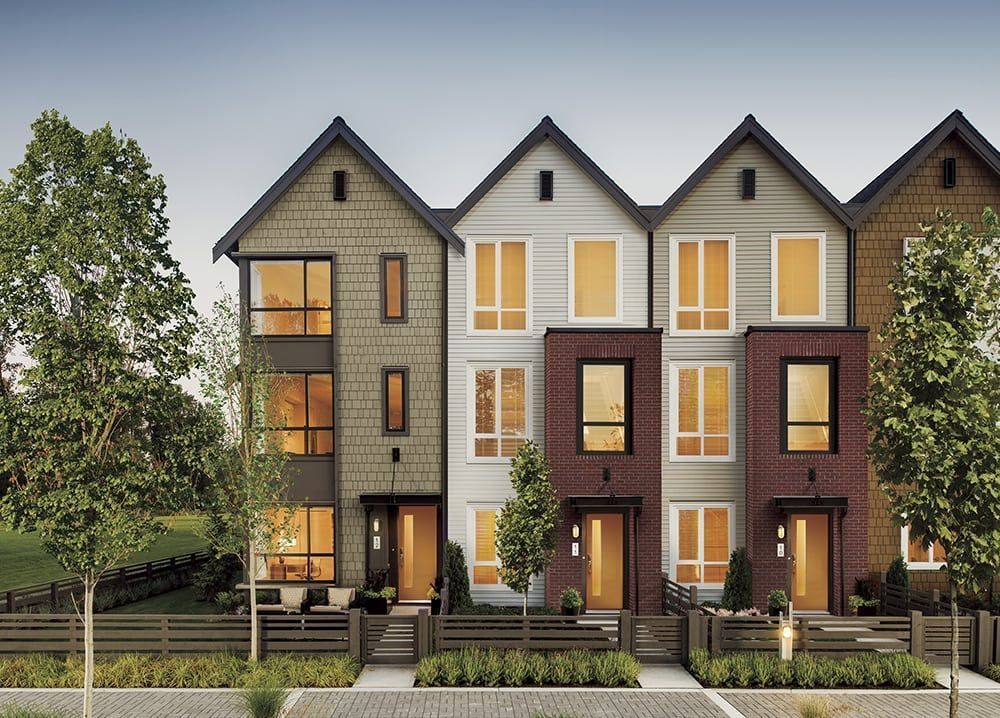Fremont townhomes ekistics in 2020 townhouse exterior