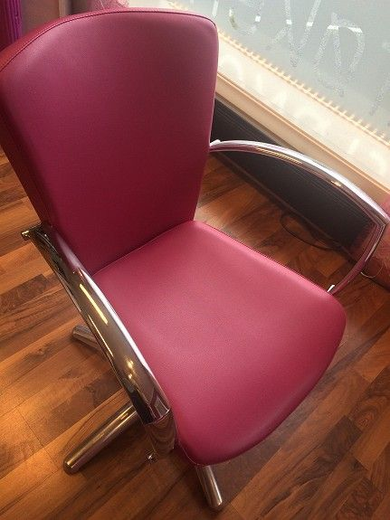 One of my cuting/styling chairs.