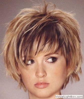 Populaire Modele coiffure femme visage rond | Coiffures | Pinterest | Modele  DQ99