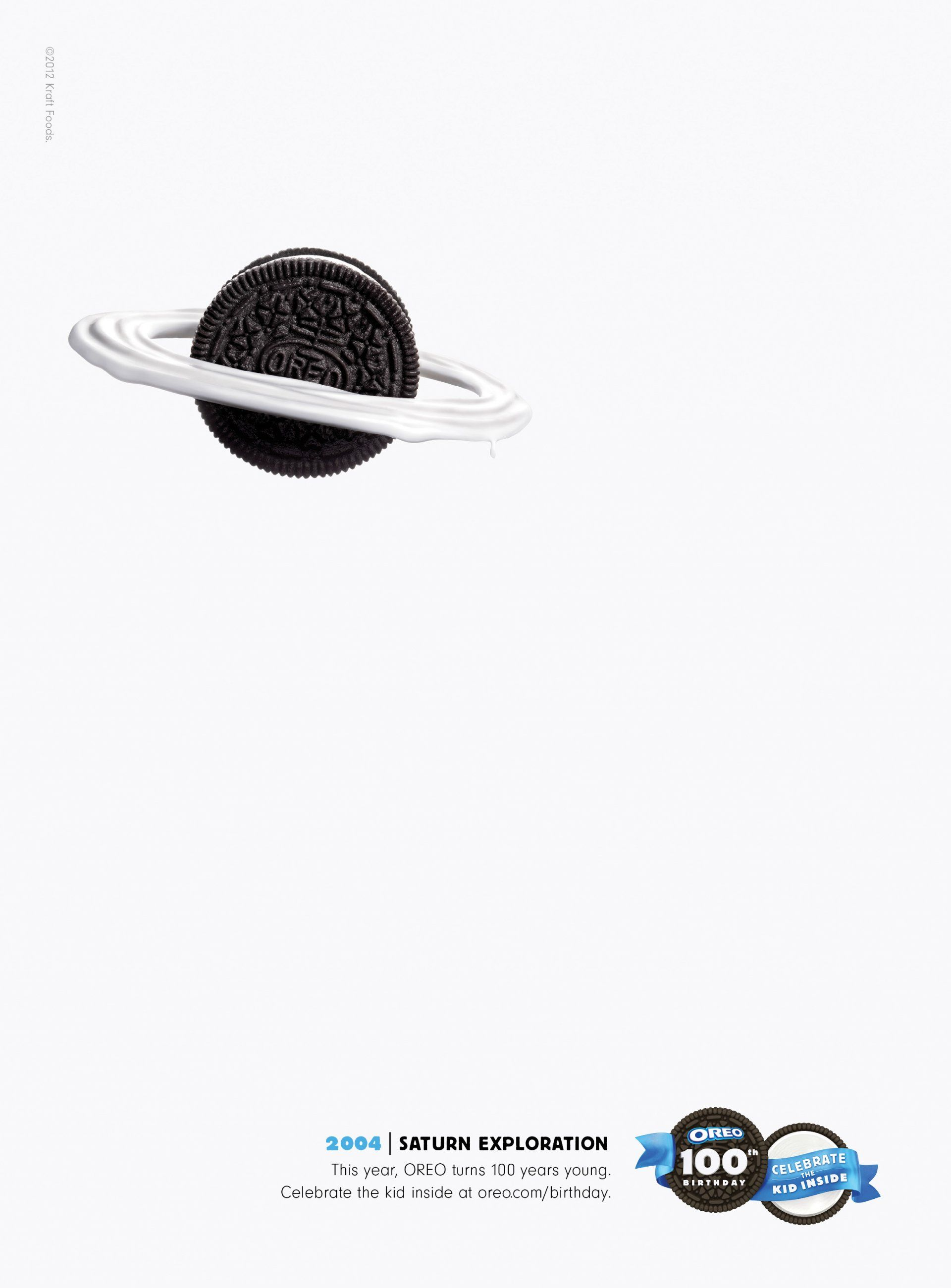@Oreo 100th Birthday Print Ads by @Draftfcb @Kraft Foods via @Co.Create