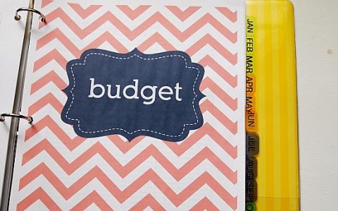 How To Make A Budget Binder  Binder Printable Budget Planner And