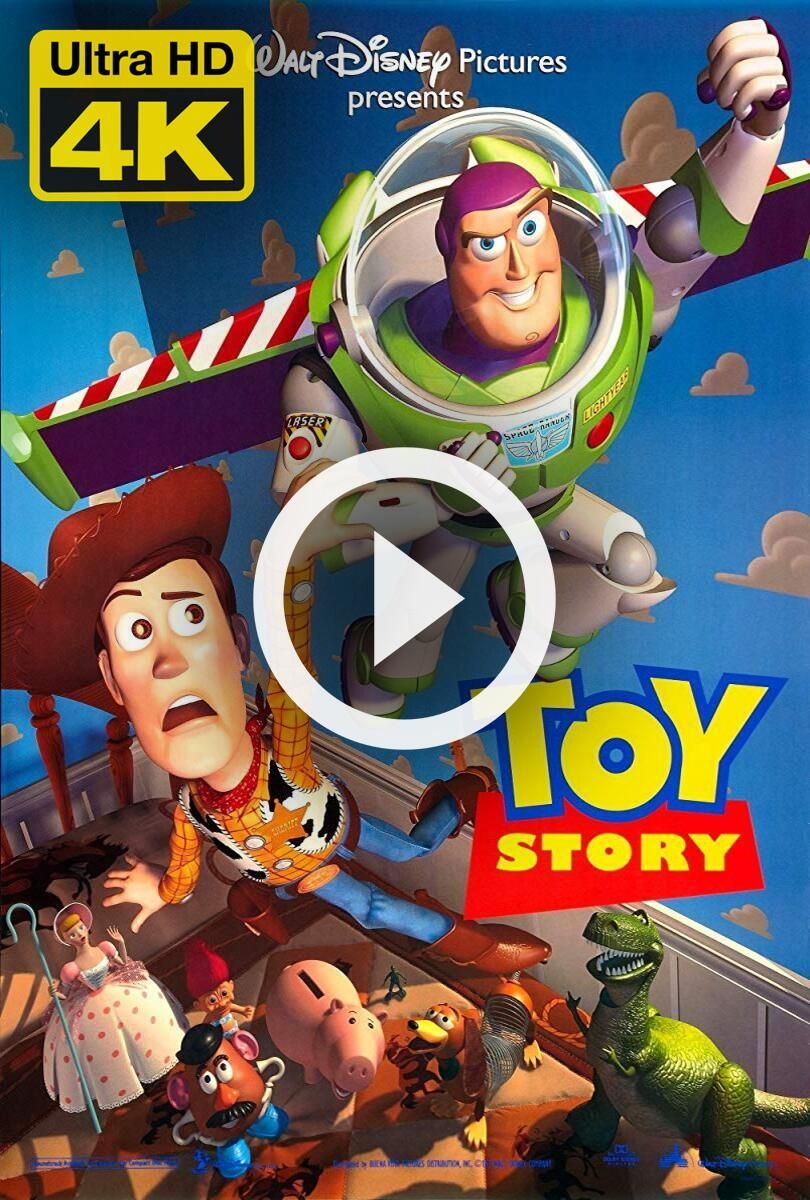 4k Ultra Hd Toy Story 1995 Watch Download Toy Story 1995 Toy Story Movie Toy Story 3 Movie Toy Story 1995