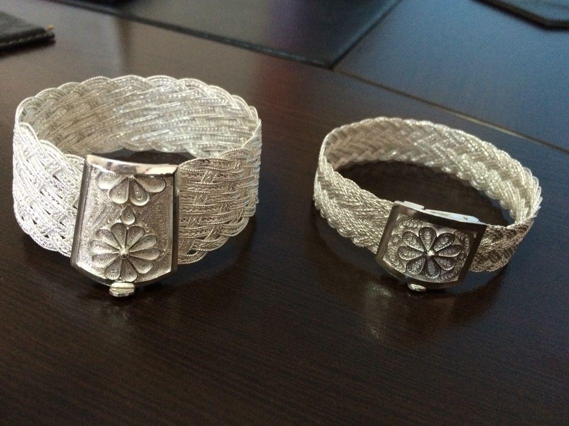 Gumus Bileklikler Viking Orgu El Yapimi Taki Taki Yapimi