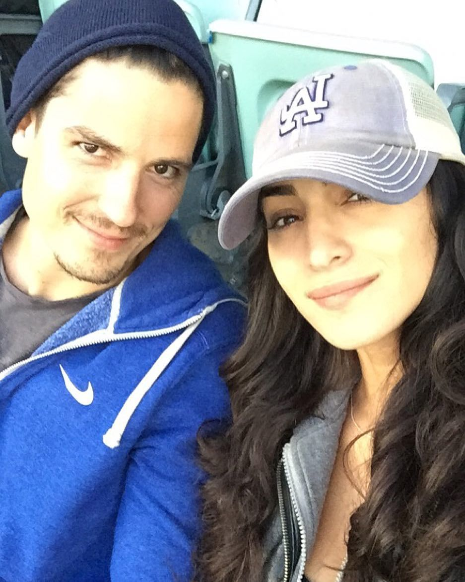 THINK BLUE: LA Dodger Game with @i_am_seanfaris  #Kershaw #22 #DateNight by cheriealexandra