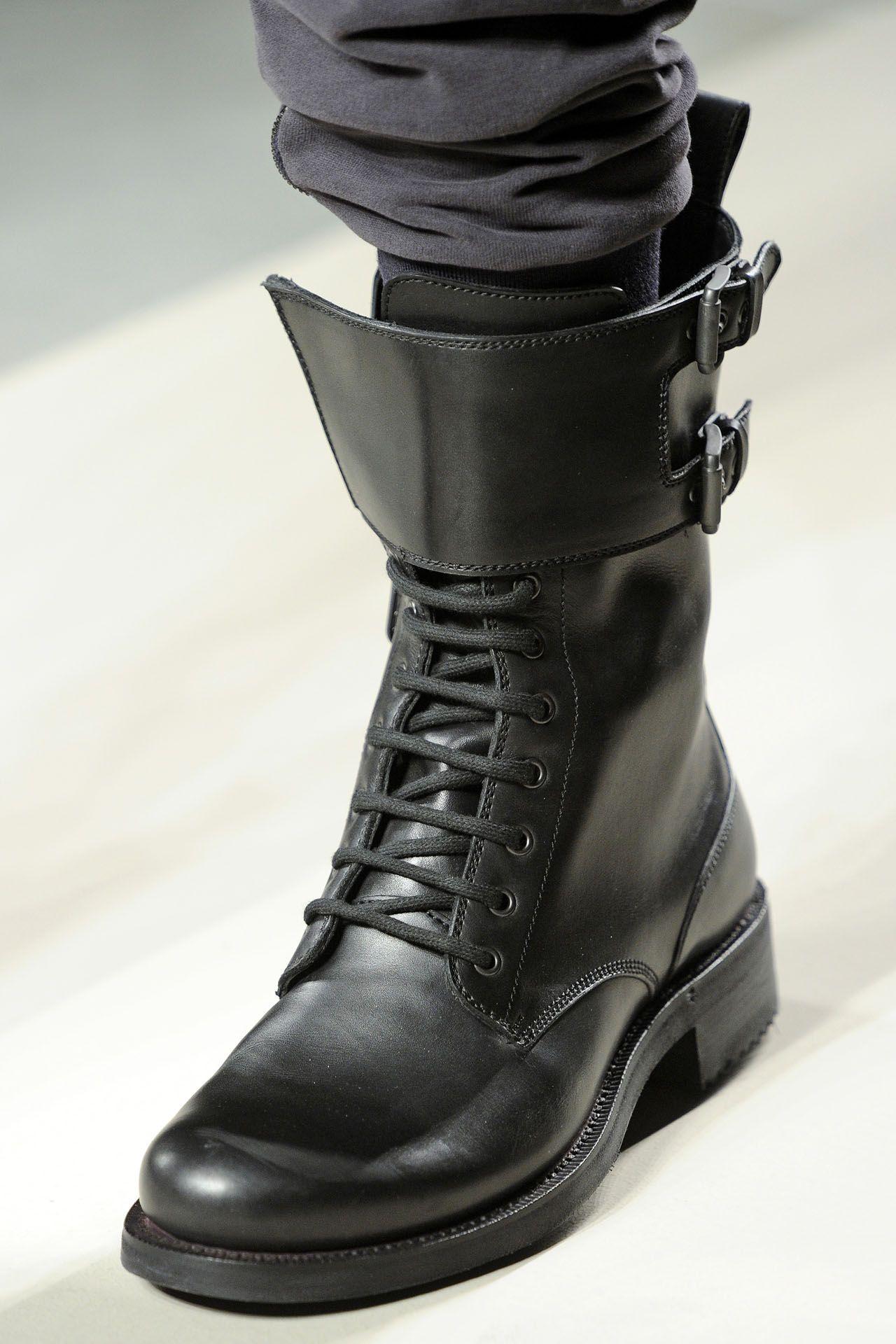 Shoes Trend Milan Men Fall Winter 2010 11 Trending Shoes Mens Dress Boots Boots