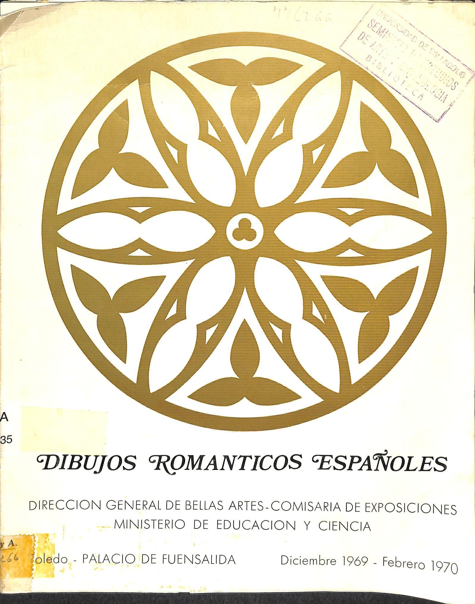 Dibujos románticos españoles : [exposición]