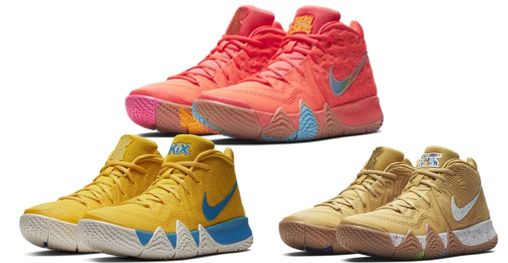 "e0b2617c58a3 sportdailys.com– The Nike Kyrie 4 ""Cereal Pack"" is set to drop next  Saturday"
