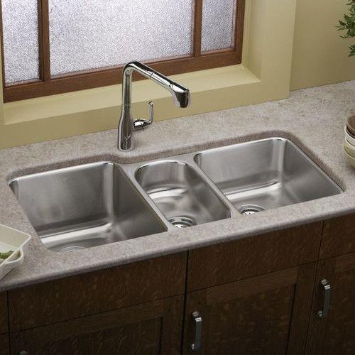 Lustertone 40 L X 21 W Undermount Kitchen Sink Undermount