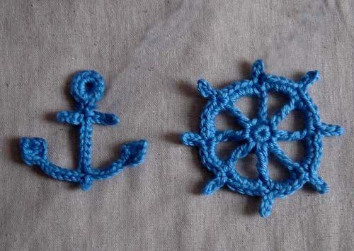 Little Baby Sailor Vest Photo prop Crochet Pattern by Cathyren