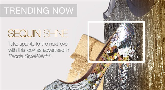 ***Sequin Shine***  As trending in People StyleWatch!  Mary Kay Blog | Beauty That Counts Get the look: www.marykay.com/abbyswank