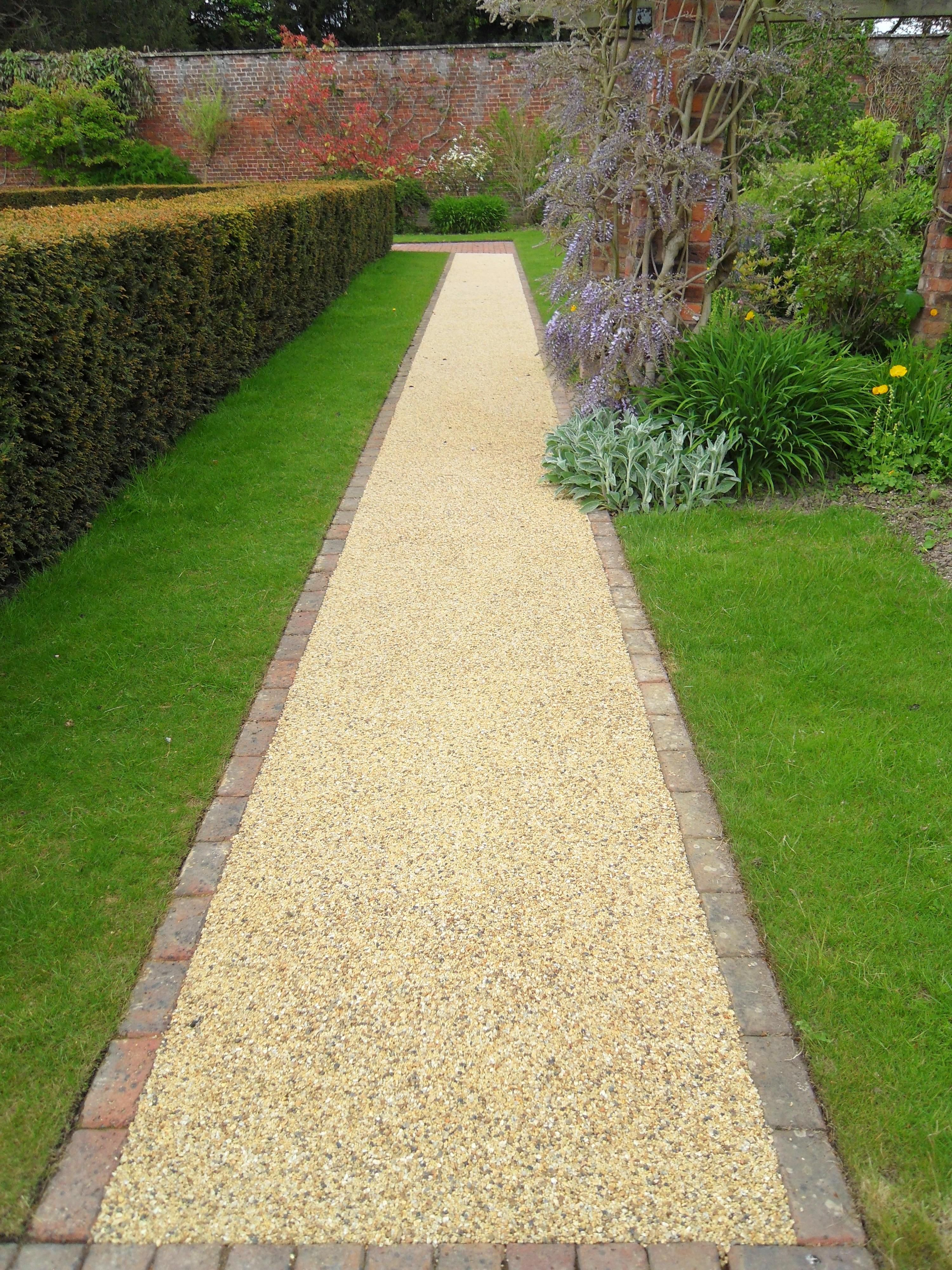 Our Resin Bound Paving can be intergrated with previous surfaces ...