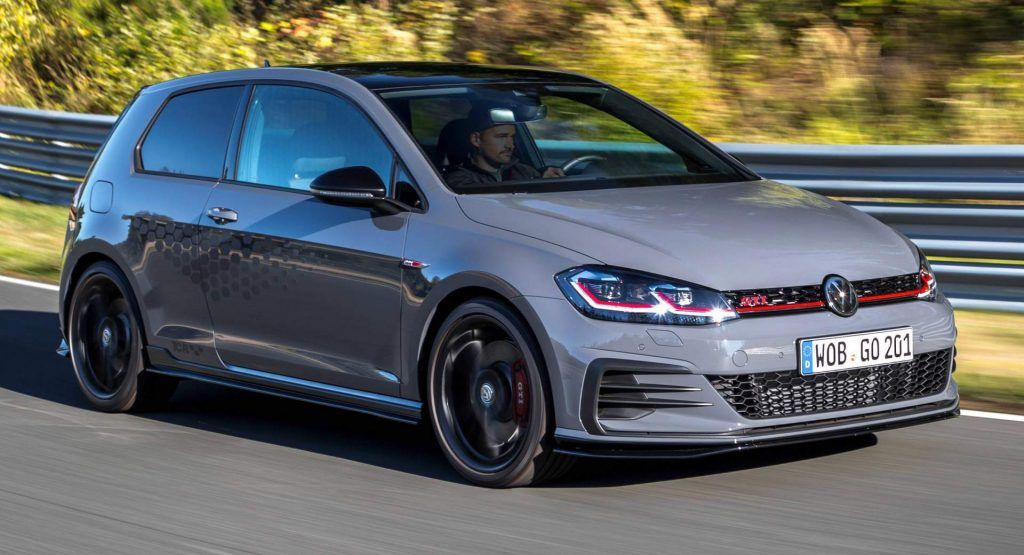 286hp Vw Golf Gti Tcr Introduces Itself In Huge Photo Gallery