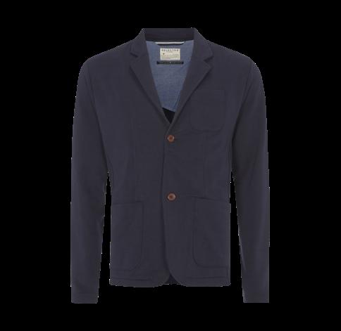 Selected Homme 2-Knopf-Sweatsakko mit aufgesetzten Taschen - Mannequine