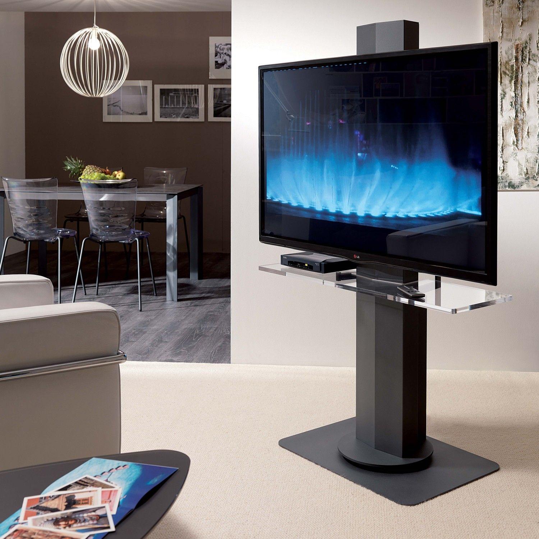 Uno Sleek Tv Stand With Adjustable Height Arredaclick Suporte