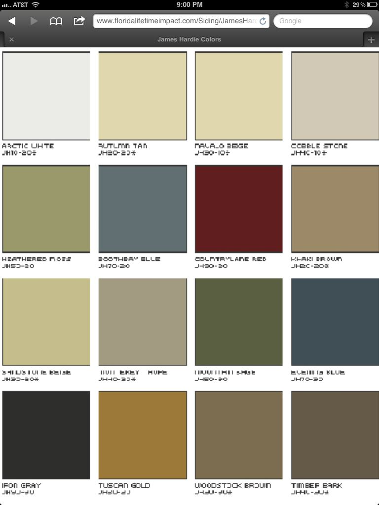 Hardi Board Colors I Do Keep Coming Back To That Grey
