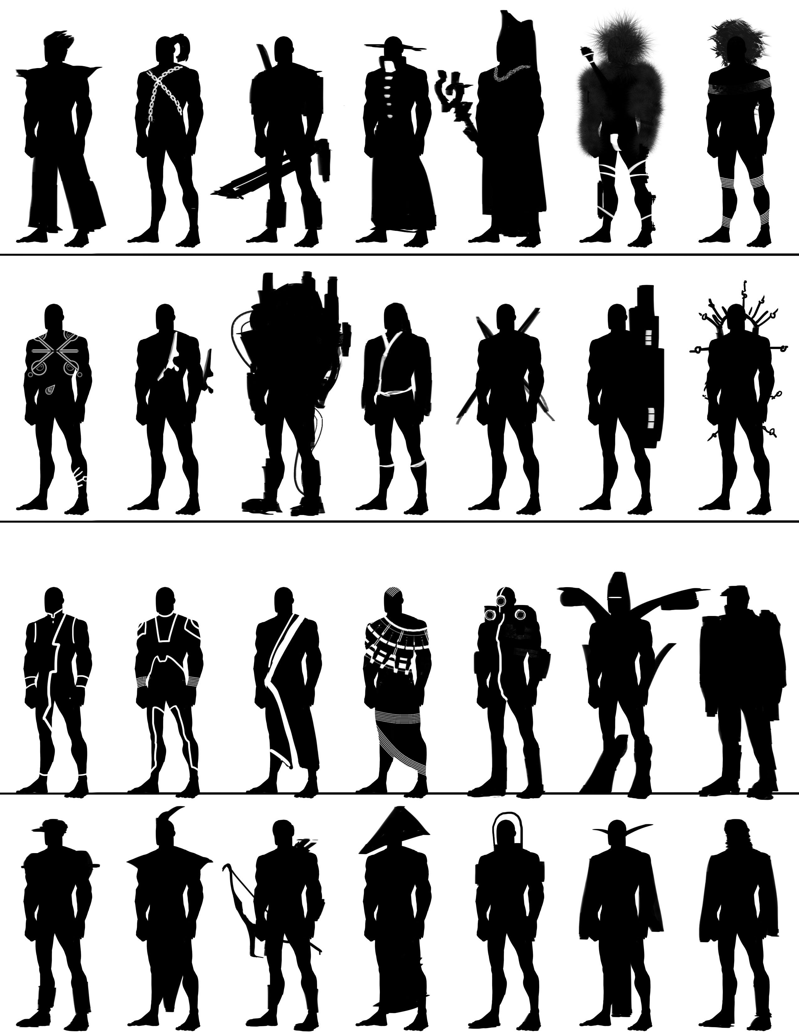http://absolutelyabe.com/wp-content/uploads/2013/05/HW_CharacterSilhouette5.jpg  ★ || CHARACTER DESIGN REFERENCES™ (https://www.facebook.com/CharacterDesignReferences & https://www.pinterest.com/characterdesigh) • Love Character Design? Join the #CDChallenge (link→ https://www.facebook.com/groups/CharacterDesignChallenge) Share your unique vision of a theme, promote your art in a community of over 50.000 artists! || ★