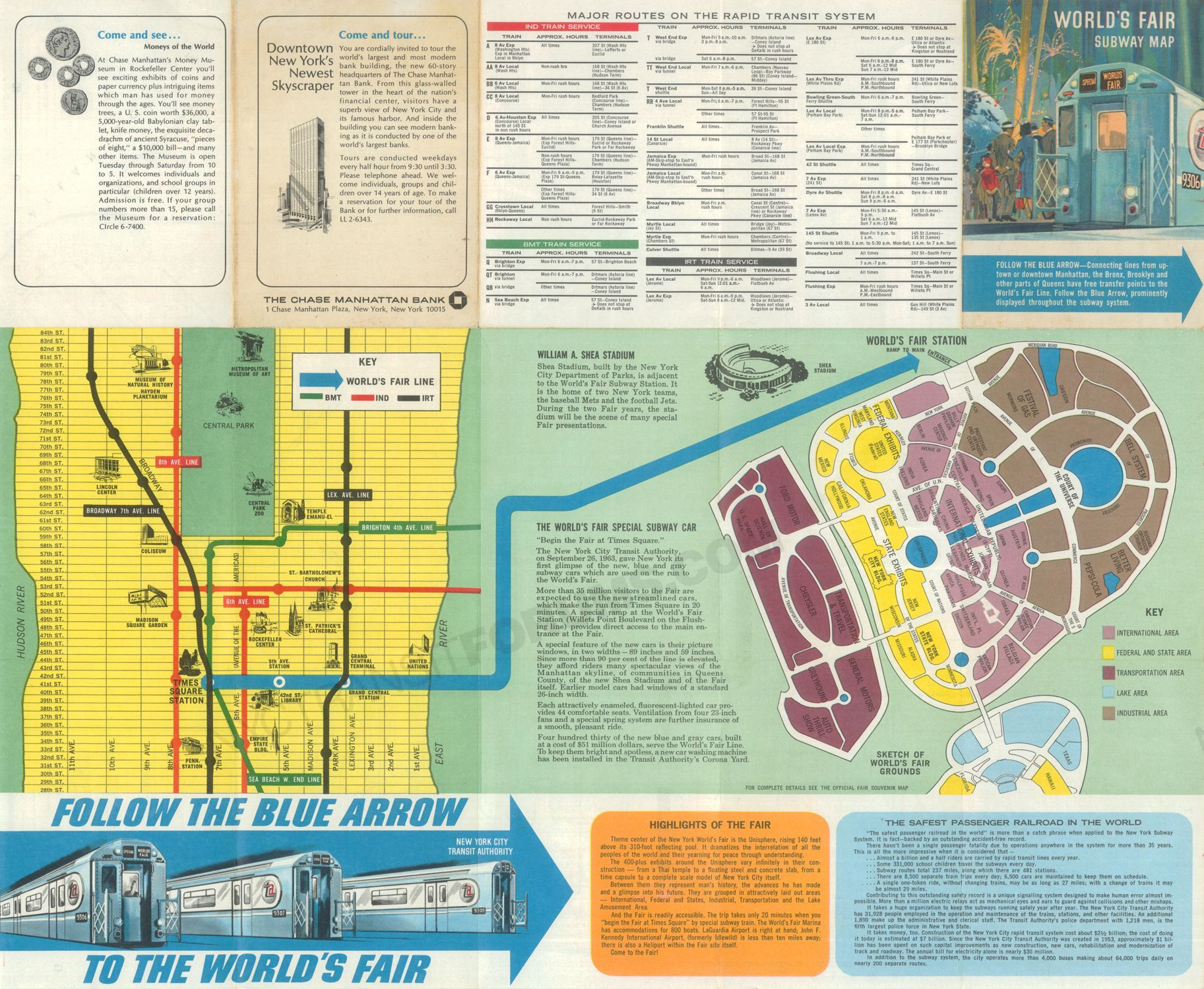 Pin by NYC Transit Forums on New York City Subway Maps | Subway map  World S Fair Map on