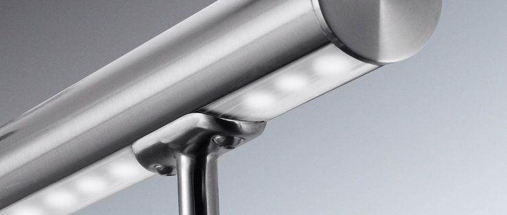 rvs trapleuning met led verlichting met laagste prijs garantie rvs land leverancier van rvs artikelen tegen de laagste prijzen