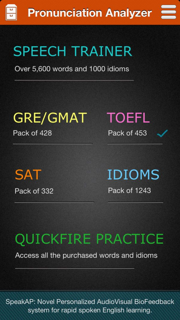 SpeakAP Analyze Pronunciation on the App Store