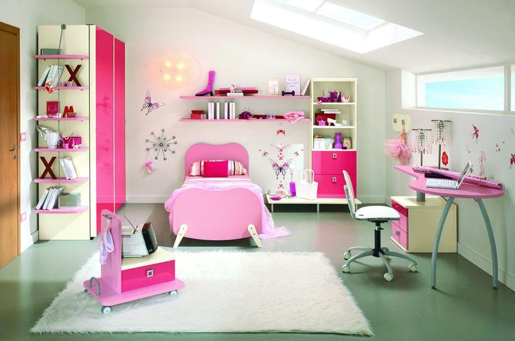 Camera da letto ragazza arredamento moderno camera ragazza arredamento camera da letto piccola - Arredamento camera ragazza ...