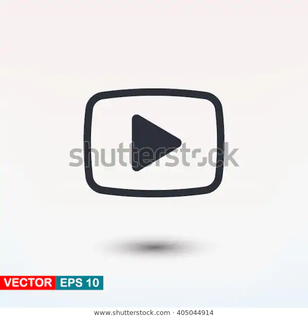 Youtube Play Button Icon N5 Fake Video Play Button Youtube Buttons Play Button