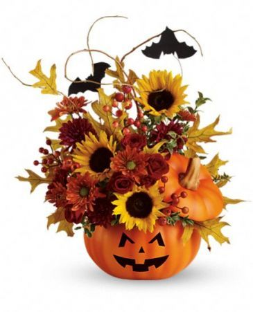 Trick Treat Bouquet Teleflora's in Springfield, IL | FLOWERS BY MARY LOU INC