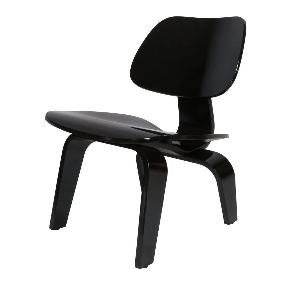 Silla Wood Low Black replica de la silla LCW en www.lasddi.com ...