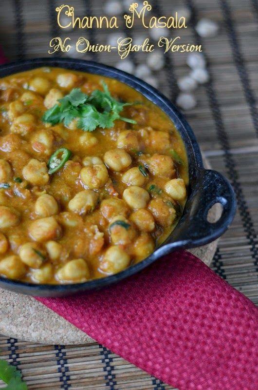 Channa masala no onion garlic version food pinterest onions channa masala no onion garlic version vegetarian gravyside dishesgarliconions forumfinder Images